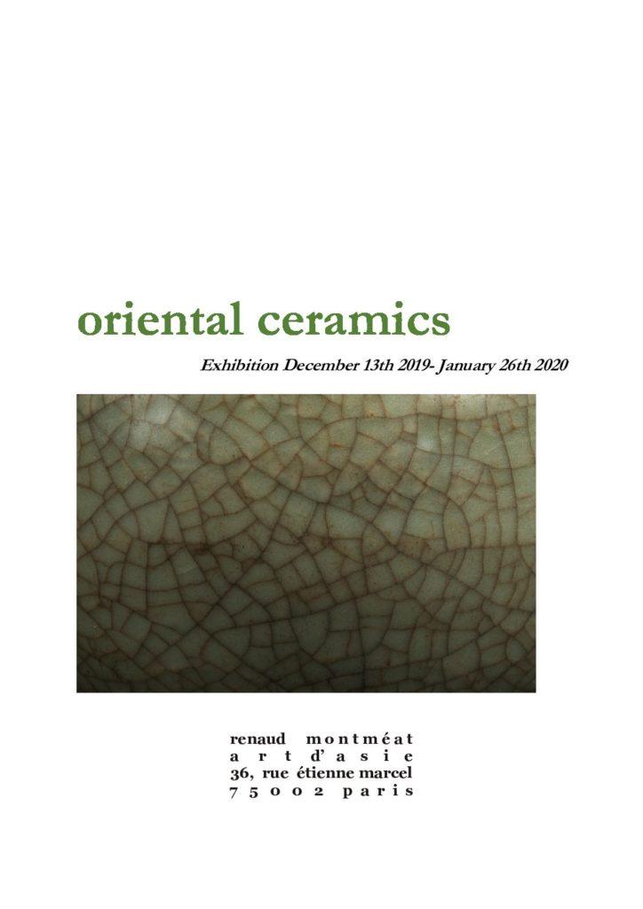Couverture du catalogue Céramiques orientales Décembre 2019