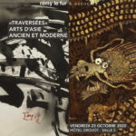 Couverture - Traversées - Arts d'Asie ancien et moderne