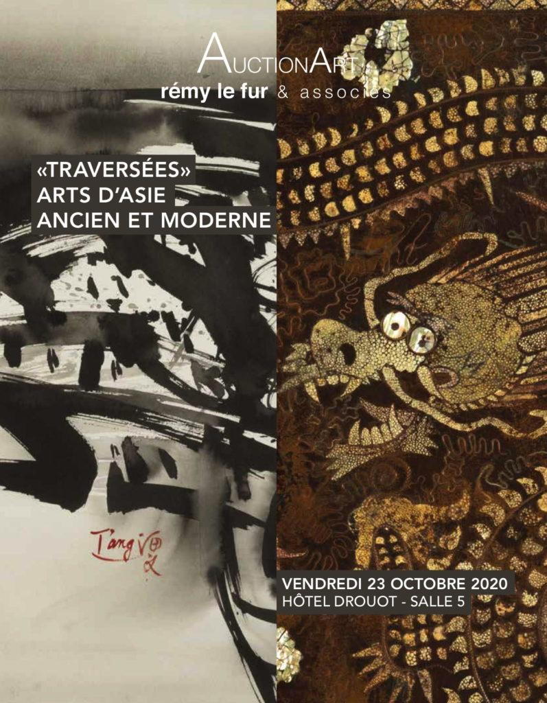 Couverture - Traversees - Arts d'Asie ancien et moderne